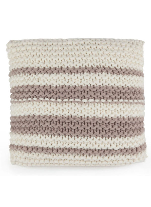 Knit Kit: The Garter Stitch Pillow