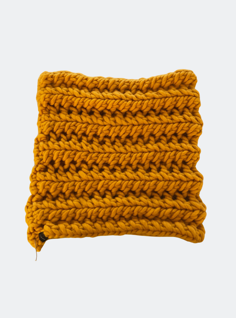 Ready Made: The Nantucket - Cowl Scarf in Sunflower