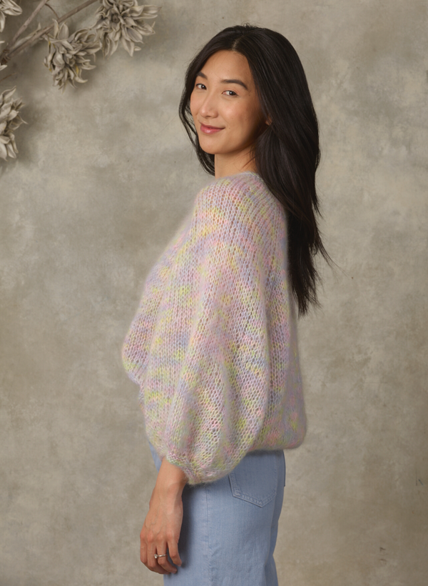 "Made To Order: The Liana - 3/4"" Length Sleeve Mohair Pullover"