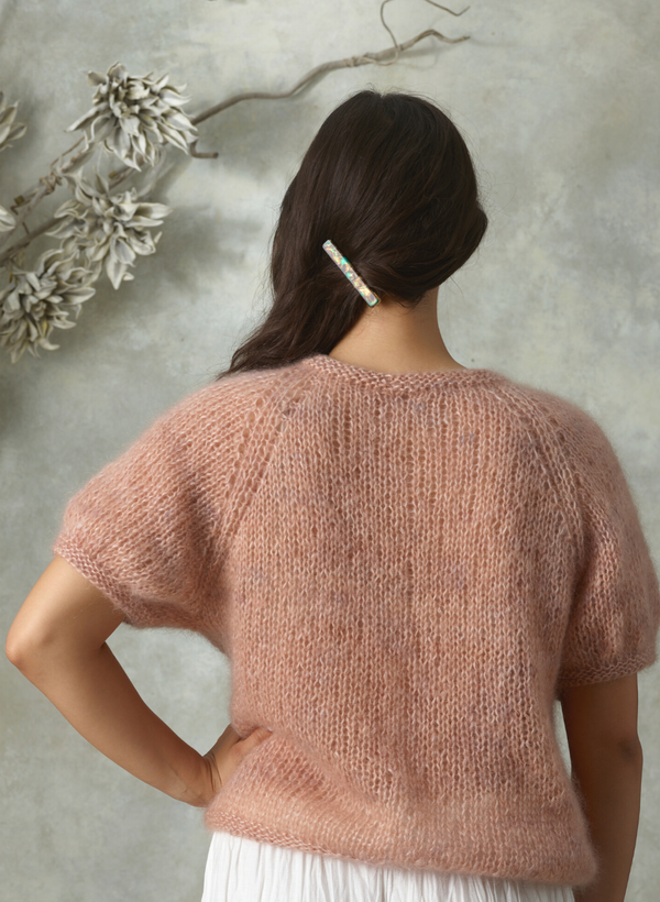 Made To Order: Limited Edition,The Lily - Mohair Tee
