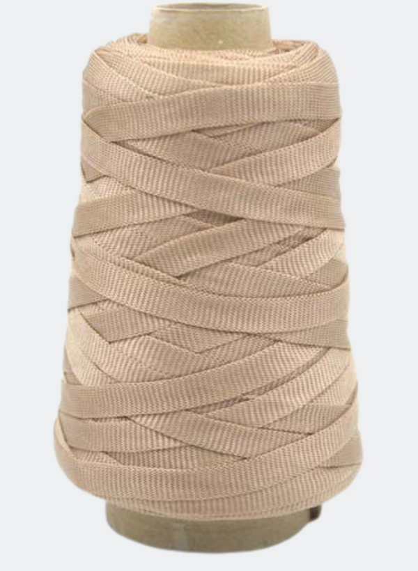 Bandiera: Recycled Plastic Bag Yarn - Taupe 401