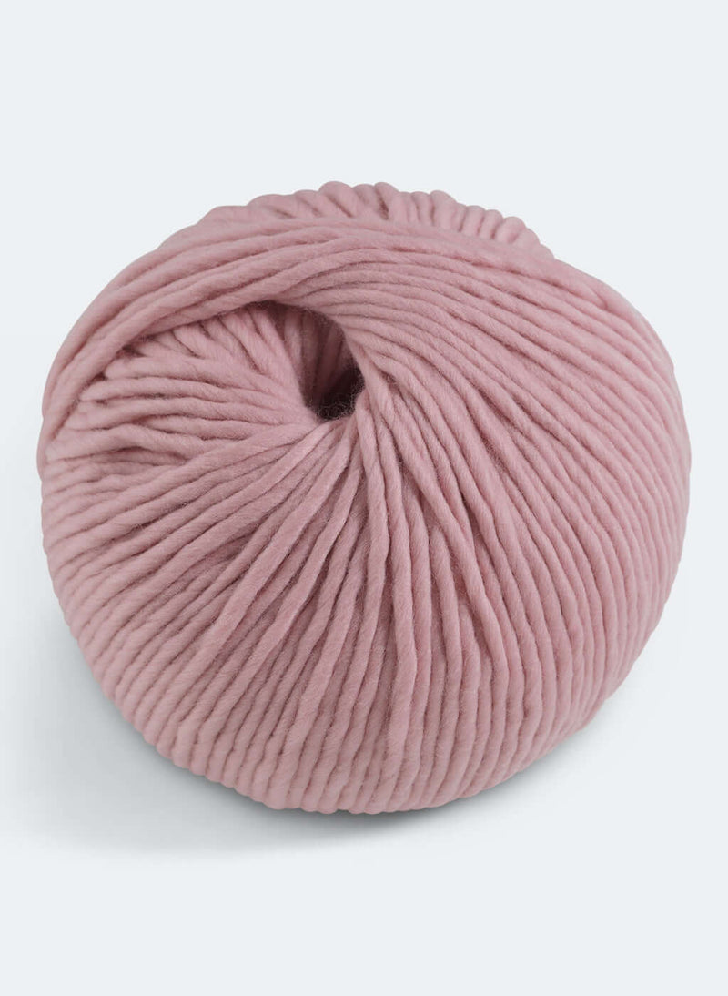 Baby Chunky: 100% Super Luxe Merino - Vintage Rose
