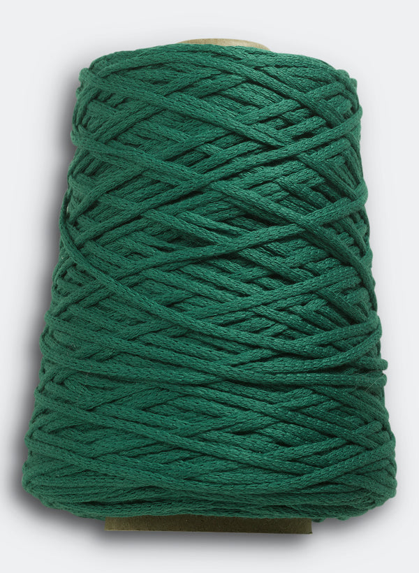 Lanyard Yarn By Echo View Mills: Malachite