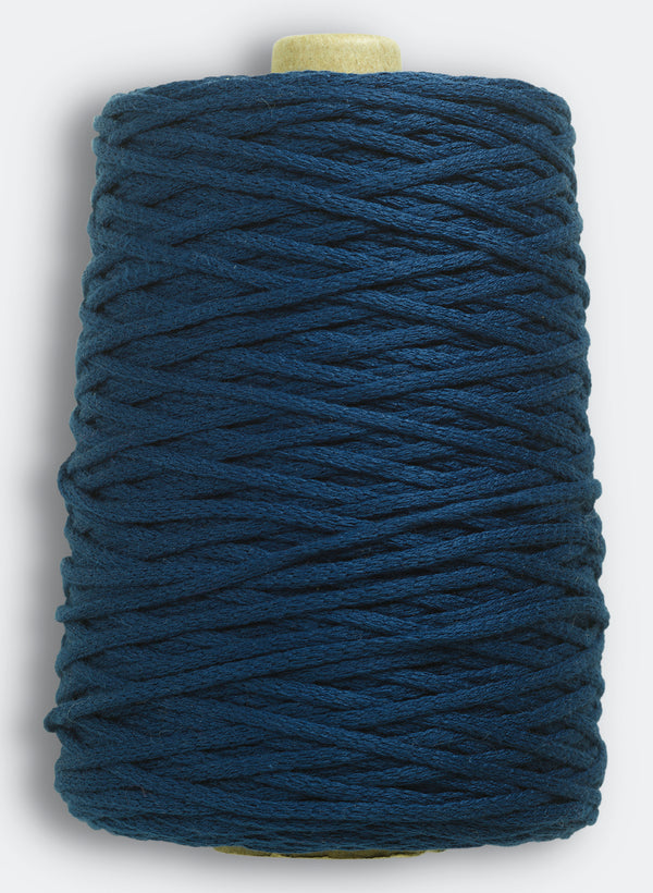 Lanyard Yarn By Echo View Mills: Dark Indigo