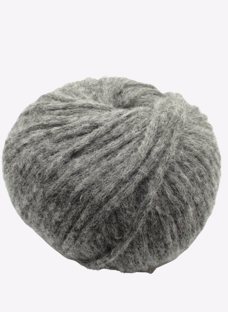 Beatrix - Extrafine Merino, Angora & Nylon - Slate