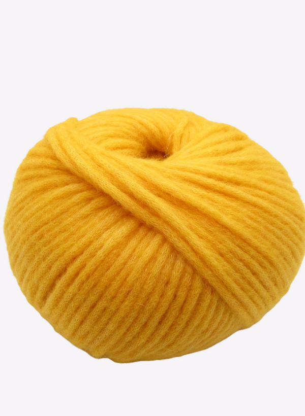 Beatrix - Extrafine Merino, Angora & Nylon - Gold