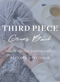 Mindful Stress Relief to Frontline Workers - Donations to provide Knit Kits & Classes