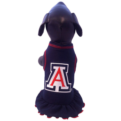 Arizona Wildcats Cheerleader Dog Dress