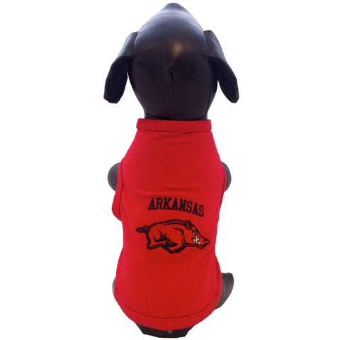 Arkansas Razorbacks Dog Shirt