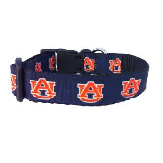 auburn tigers dog collar