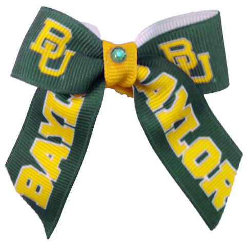 Baylor University Dog Hair Bow