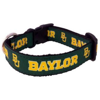 Baylor Bears Dog Collar