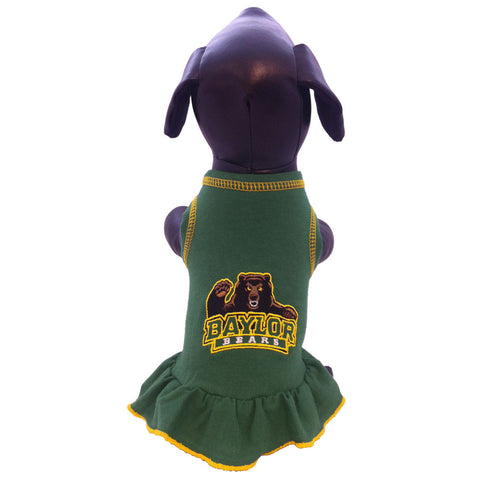 Baylor Bears Cheerleader Dog Dress