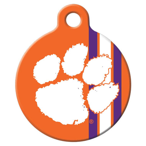 Clemson Tigers Dog Tag