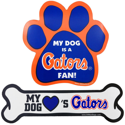 Florida Gators Paw or Bone Magnet