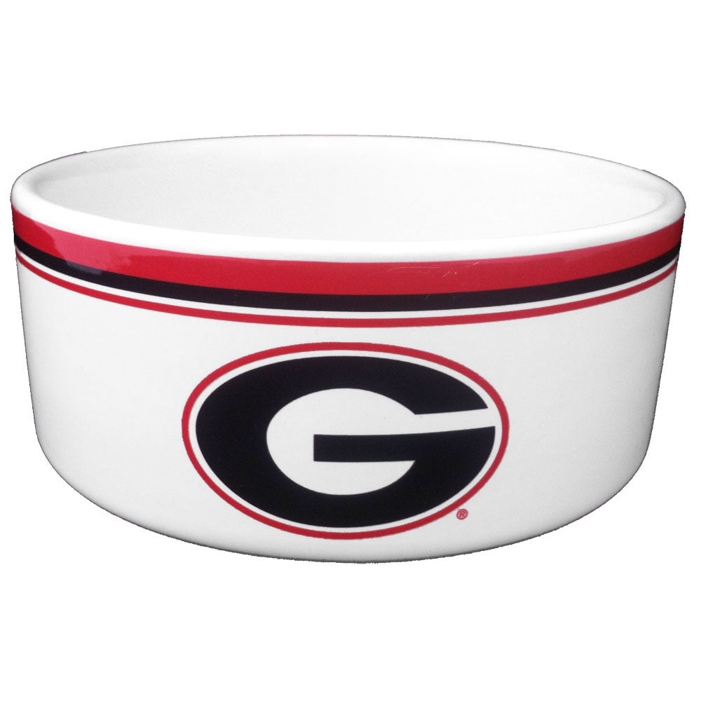 Georgia Bulldogs Dog Food Bowl