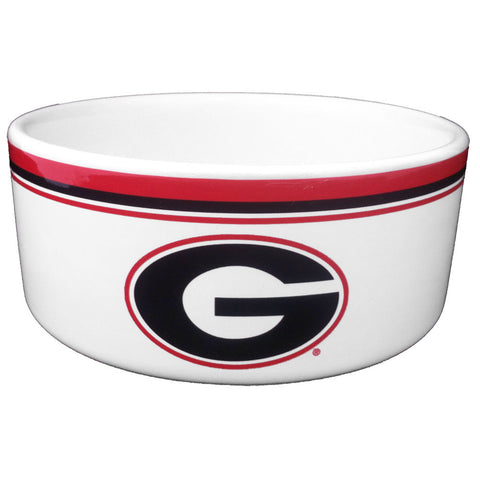 Georgia Bulldogs Food & Water Bowl