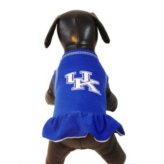 Kentucky Wildcats Cheerleader Dog Dress