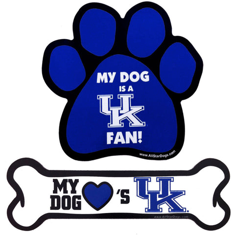Kentucky Wildcats Paw or Bone Magnet