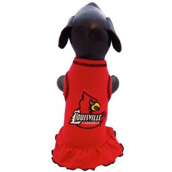 Louisville Cardinals Cheerleader Dog Dress