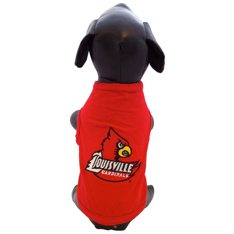 Louisville Cardinals Dog Shirt