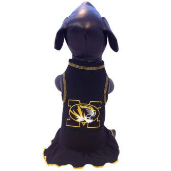Missouri Cheerleader Dog Dress