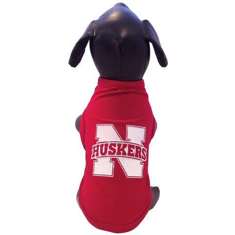 Nebraska Huskers Dog Shirt