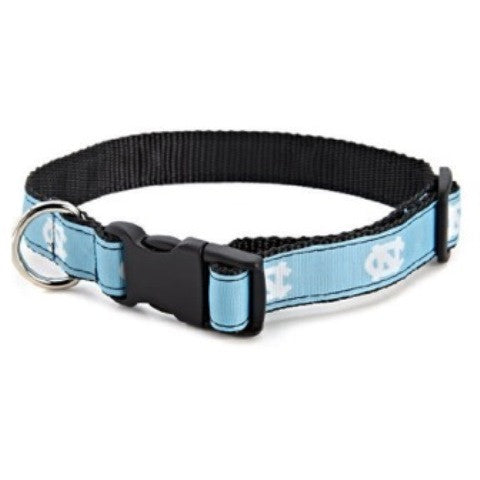north carolina tar heels dog collar