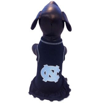 North Carolina Tar Heels Cheerleader Dog Dress