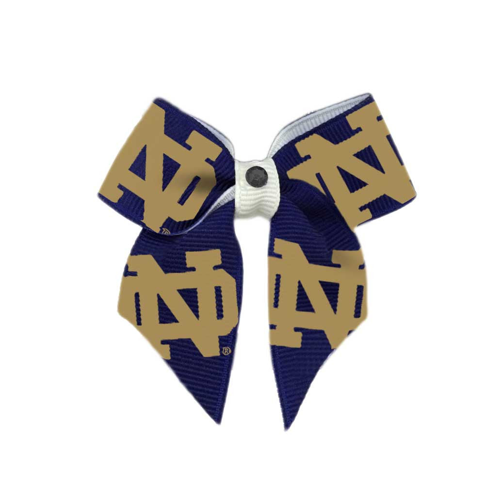Notre Dame Dog Hair Bow