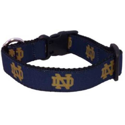 Notre Dame Fighting Irish Dog Collar