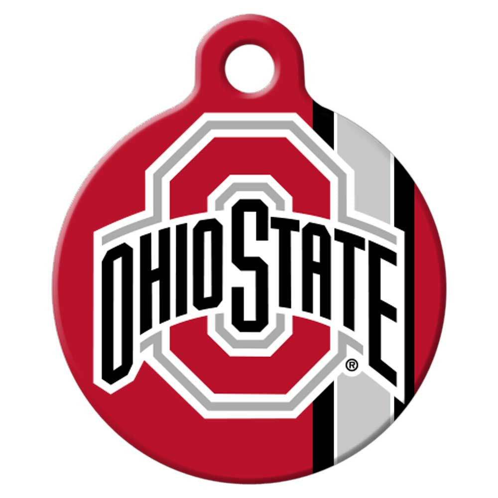 ohio state buckeyes dog tag