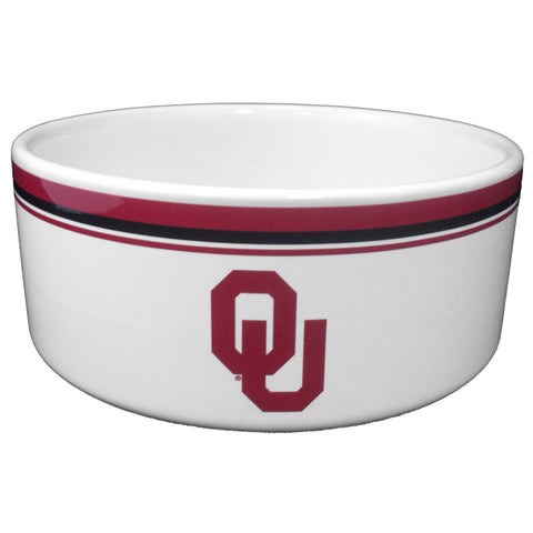 Oklahoma Sooners Food & Water Bowl