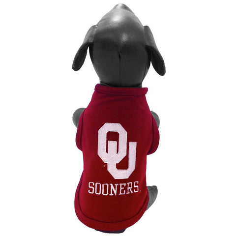 Oklahoma Sooners Dog Shirt