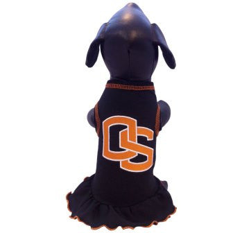 Oregon State Beavers Cheerleader Dog Dress