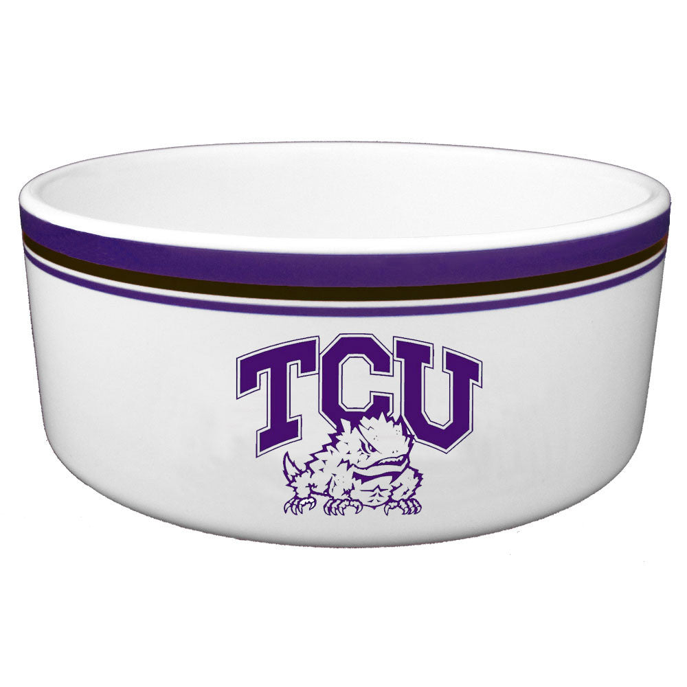 TCU Horned Frogs Food Bowl