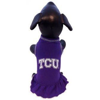 TCU Horned Frogs Cheerleader Dog Dress