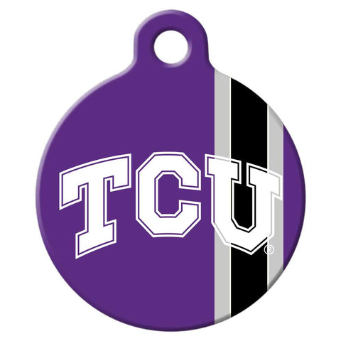 TCU Horned Frogs Dog Tag
