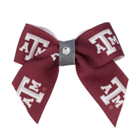 Texas A&M Aggies Dog Hair Bow