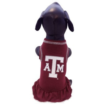 Texas A&M Aggies Cheerleader Dog Dress