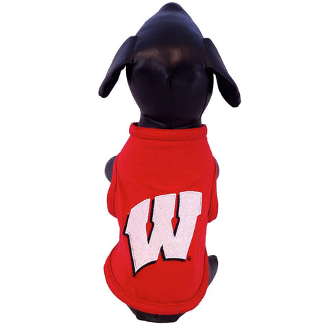 Wisconsin Badgers Dog Shirt