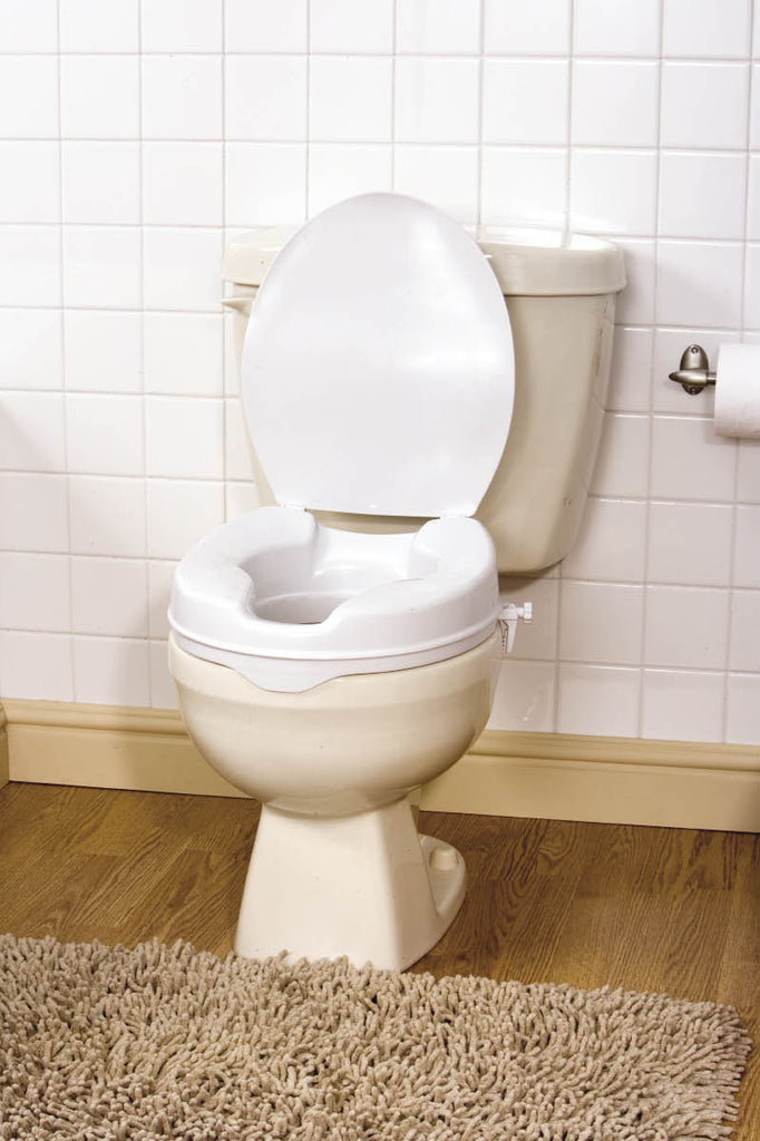 Aquasense Raised Toilet Seat With Lid 2 Quot Adl Equipment