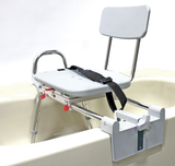Heavy Duty Tub Mount Transfer Bench with Swivel Seat
