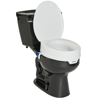 Invacare A90 Raised Toilet Seat w/Lid