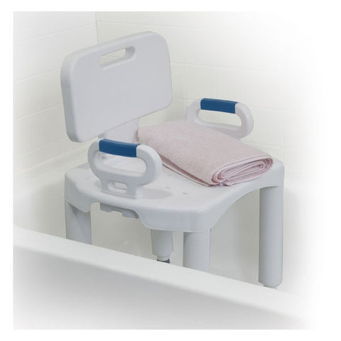 Drive Premium Bath Seat w/Back and Arms