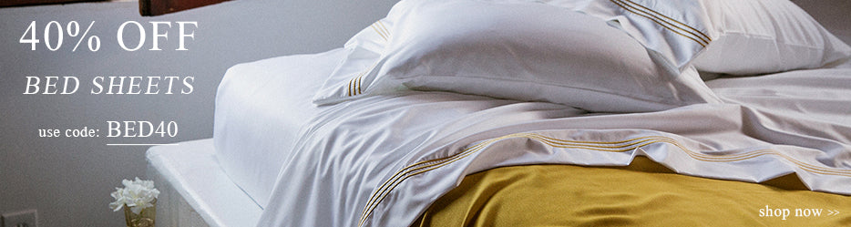40% Off Bed Sheets Online Sale | Use Code: BED40