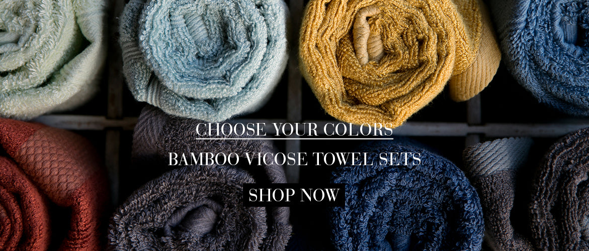 Bamboo Viscose Towel Set