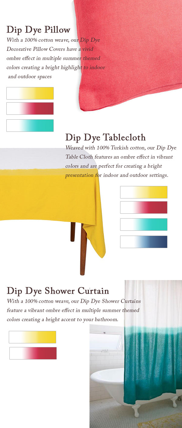 Nine Space Dip Dye Items