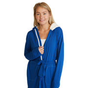 Hooded Jersey Robe & Pants Set -  - Nine Space