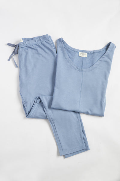 Delilah Loungewear Set - Short Sleeve - Shirts - Nine Space